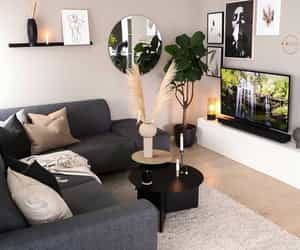 interior, interior decorating, and living area image