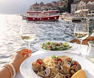 pasta, food, and italy image