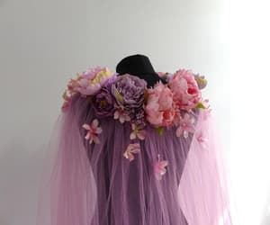 cape, costume, and flower image