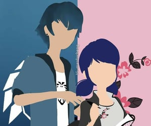 marinette dupain-cheng and luka couffaine image