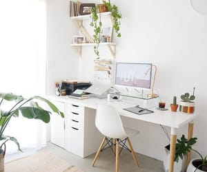 desk, office, and home image