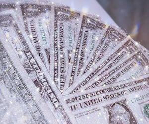 money, aesthetic, and glitter image