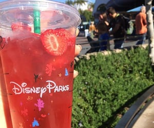 food, strawberry, and disney image