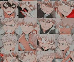 wallpaper, anime boy, and kacchan image