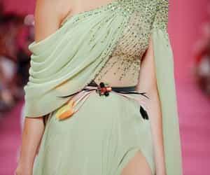 fashion, Georges Hobeika, and runway image