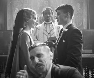 peaky blinders, arthur shelby, and wedding image