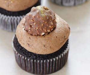 chocolate, cupcakes, and ferrero rocher image