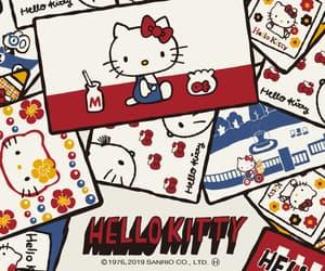 comic, hello kitty, and kitty image