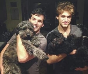 pretty little liars, ezra, and toby image