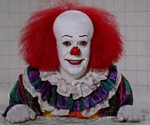 90s, clown, and horror image