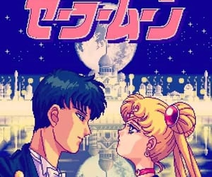 8bits, 90s, and anime image