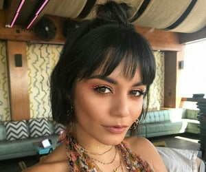 vanessa hudgens, coachella, and makeup image
