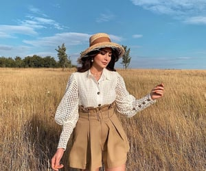 blouse, chic, and classy image