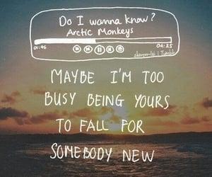 arctic monkeys, do i wanna know, and Lyrics image