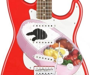 anime, electric guitar, and guitar image