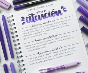 school, lettering, and apuntes image