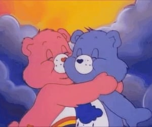 care bears, aesthetic, and cartoon image
