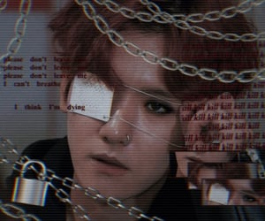 anime, chains, and cyber image