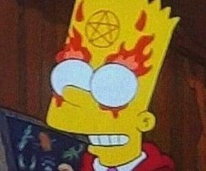 simpsons, Devil, and satan image