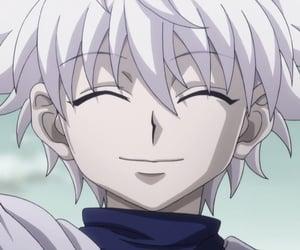 hxh, killua, and anime image