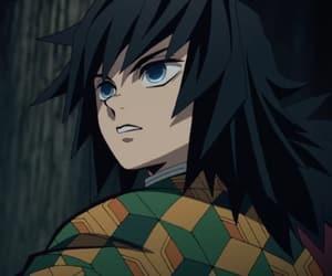 demon slayer, giyu, and kimetsu no yaiba image