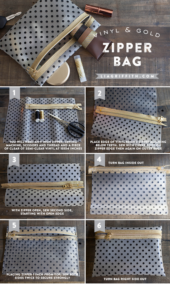 How To Make Your Own Makeup Bag On We Heart It