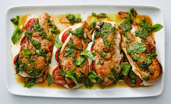 article, Chicken, and dinner image