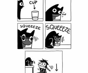 cats, sarah andersen, and comics image