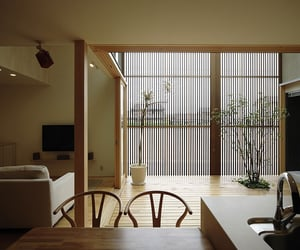 dining room, interior, and living room image
