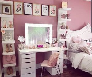 bedroom, girls, and goals image