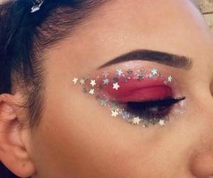 beautiful, color, and eyebrow image