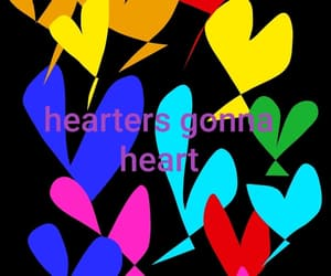 background, colorful, and I Love You image