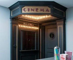 cinema, home, and dream home image