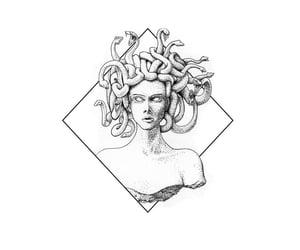 medusa and tattoo image