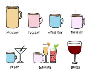 Cocktails, coffee, and drink image