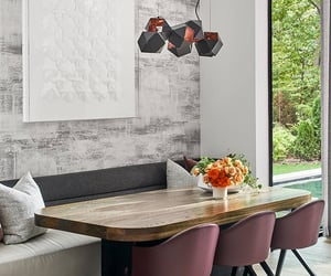decor, dining room, and home image