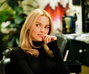 margot robbie, blonde, and movie image