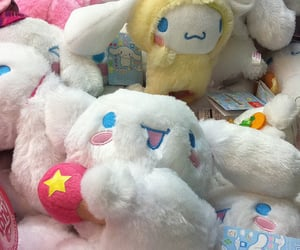 cinnamoroll, kawaii, and plushies image