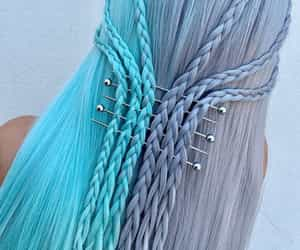 blue and braids image