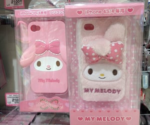 kawaii, my melody, and pastel image