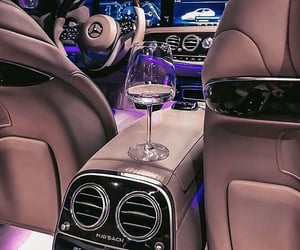 cars, champagne, and fashion image