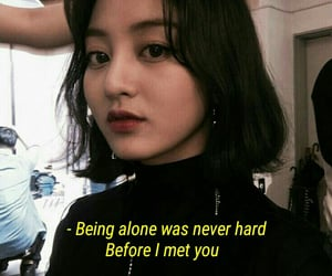 aesthetic, quote, and twice image
