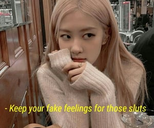 aesthetic, blackpink edit, and quote image