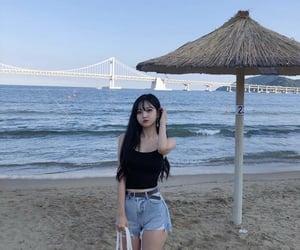 asian fashion, asian girl, and bang image