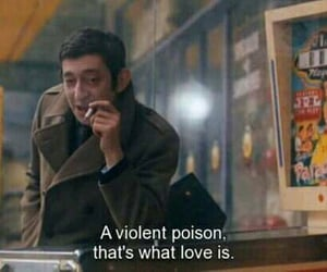 love, quotes, and poison image