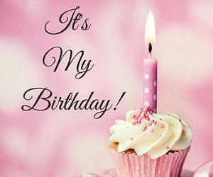 birthday, cupcake, and happy birthday image