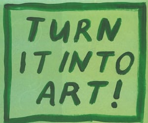art, quotes, and green image