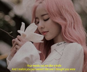 aesthetic, quote, and loona vivi image