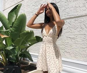 dress, sun, and fashion image