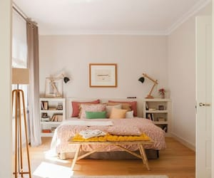 bedroom, house, and apartment image